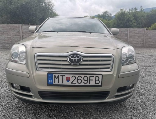 Toyota Avensis 1.8 Sol Technical
