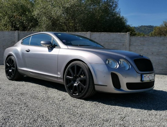 Bentley Continental GT Speed 680 PS-MTM-Mansory